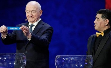 Mundial 2018: Argentina, en el Grupo D con Islandia, Croacia y Nigeria