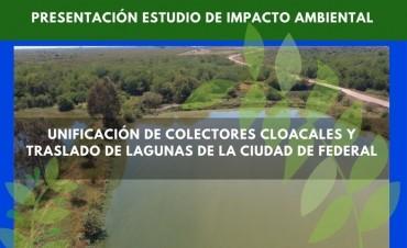 Presentación del estudio del Impacto Ambiental sobre las lagunas decantadoras