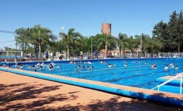 Comenzó la temporada de colonia y piletas en complejo polideportivo de Federal.