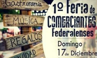 Este domingo 17 se realizará la primera feria de comerciantes Federalenses.