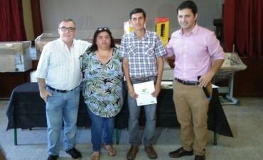 Se entregaron herramientas por 203 mil pesos a emprendedores de Federal.