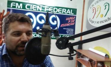 Intendente Chapino: ¨estoy trabajando a gusto sin presiones de nadie¨