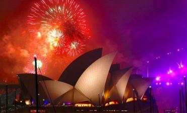 De festejo: En varios países ya le dieron la bienvenida a 2018