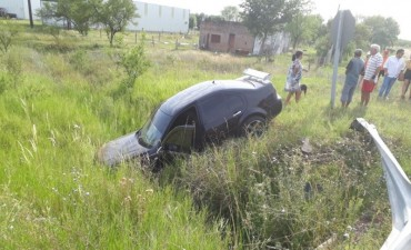 Adelanto : Accidentado amanecer de domingo
