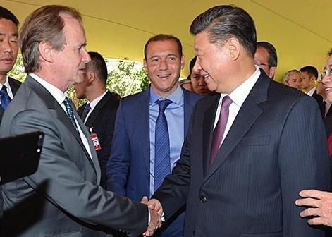 El gobernador Gustavo Bordet estuvo reunido con el presidente de China Xi Jinping