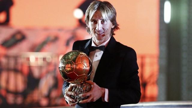El Balón de Oro 2018 fue para el croata Luka Modric