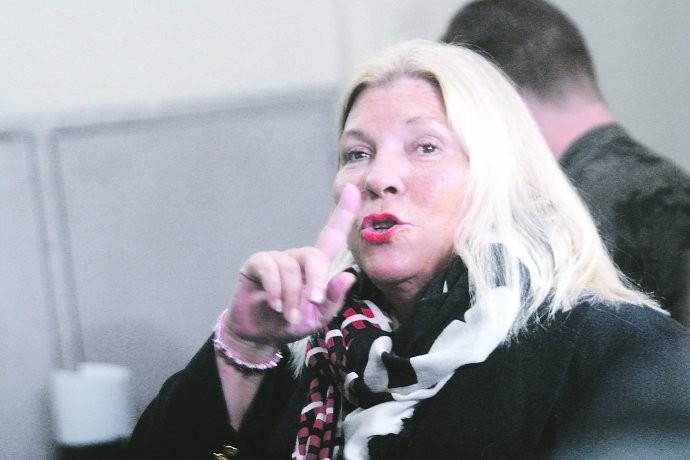 Justicia deja a Carrió sin fueros en demanda civil por falsa denuncia
