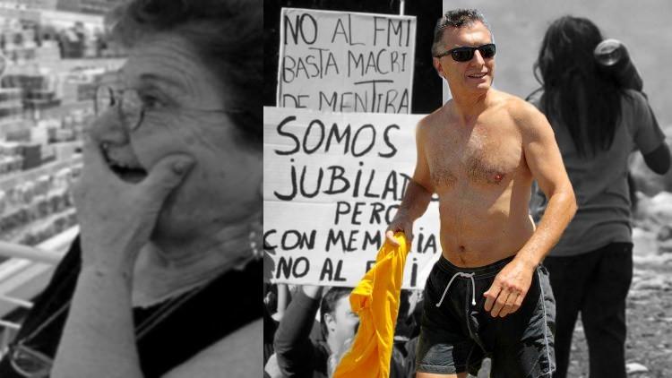 Macri se va de 21 días de vacaciones mientras la economía se derrumba