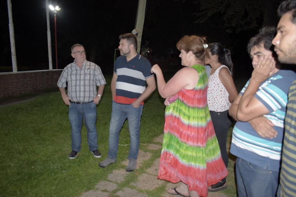 EL PRESIDENTE MUNICIPAL DEJÓ HABILITADAS LAS  NUEVAS LUMINARIAS LED EN PLAZOLETA AMÉRICA LATINA