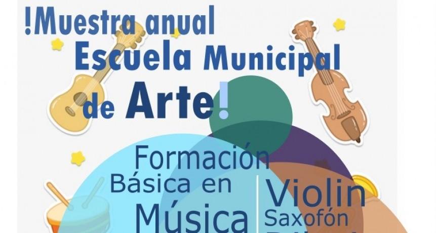 MUESTRA ANUAL DE LA ESCUELA MUNICIPAL DE ARTE