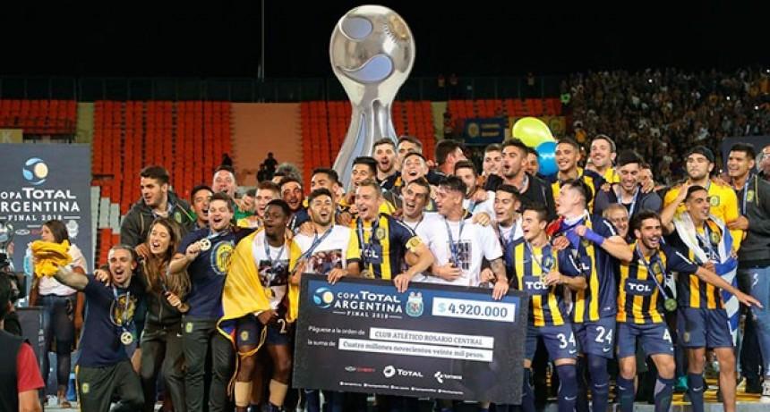 Central venció en los penales a Gimnasia y se consagró campeón de la Copa Argentina