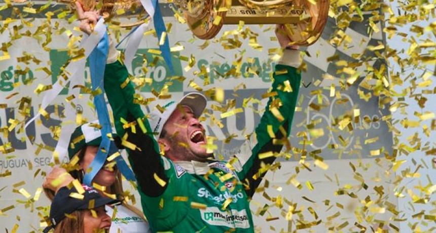 TC: Agustín Canapino logró la hazaña y se consagró tricampeón en San Nicolás