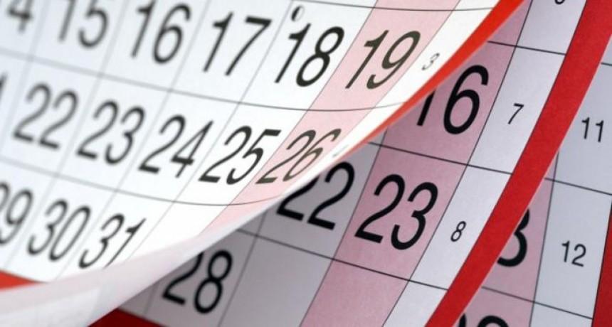 Confirmaron los feriados para el 2019