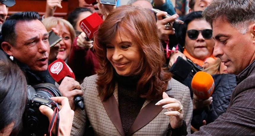 Cristina cuestionó su procesamiento con prisión preventiva