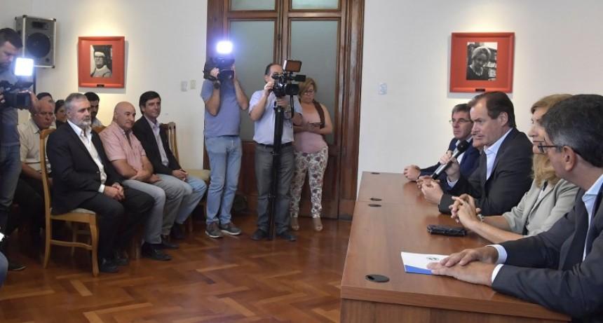 Comenzarán las obras de gas natural en Sauce de Luna y Rosario del Tala
