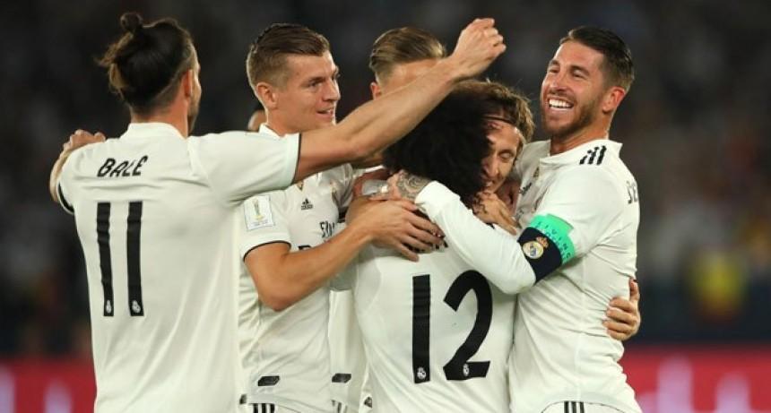 Con una goleada, Real Madrid logró el tricampeonato en el Mundial de Clubes