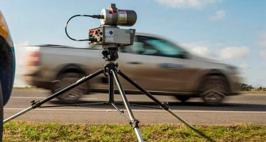 Unos diez radares controlan excesos de velocidad en rutas entrerrianas
