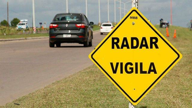Alertan por el aumento del control con radares en la provincia