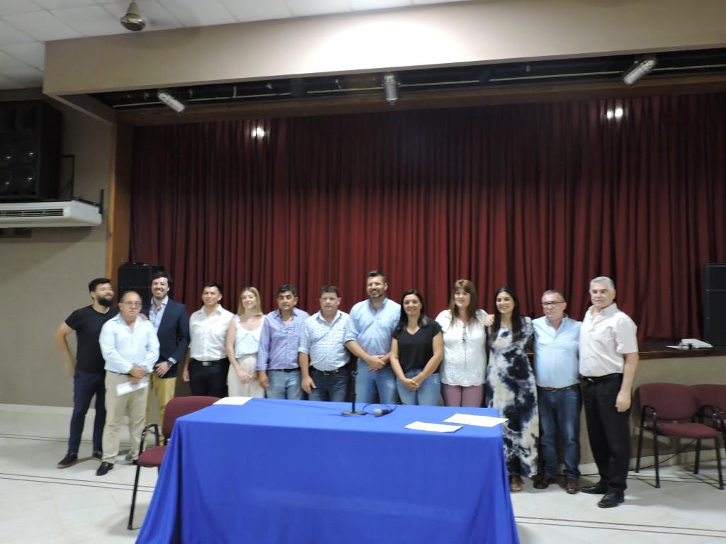 Se presentó el gabinete municipal para la gestión 2019-2023