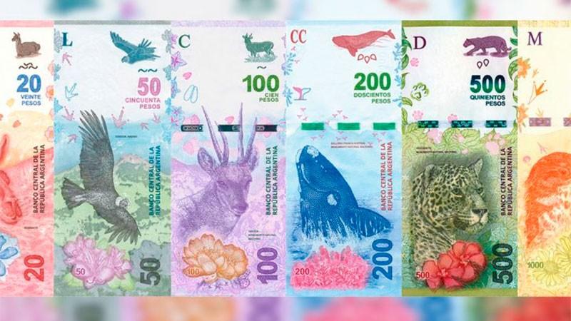 El Banco Central estudia emitir nuevos billetes de $2.000 o $5.000