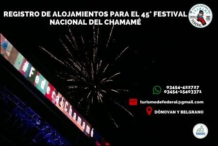 Abierto el registro de alojamientos para el Festival Nacional del Chamame