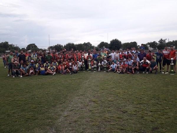 La Liga Federalense realizo la premiación para sus competencias oficiales de Primera y Reserva .