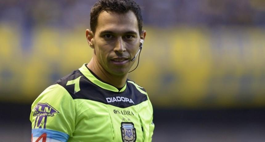 Facundo Tello es el árbitro designado para la Final de la Copa Argentina