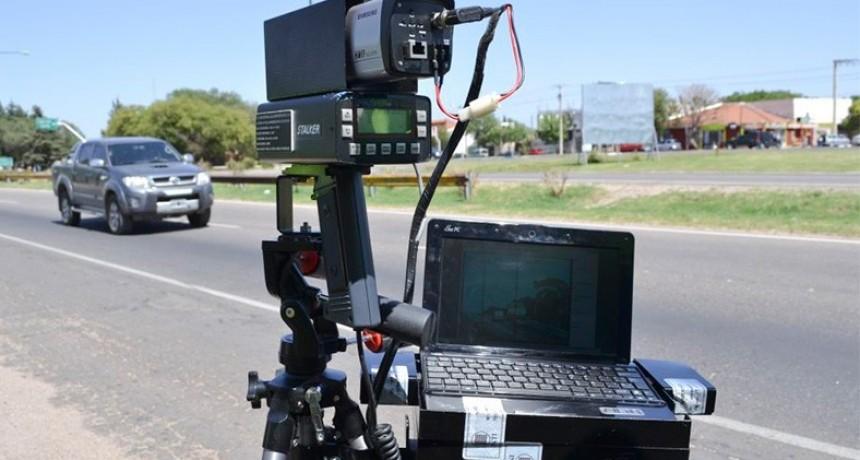 Incrementan controles con radares en rutas entrerrianas: Cómo se procede