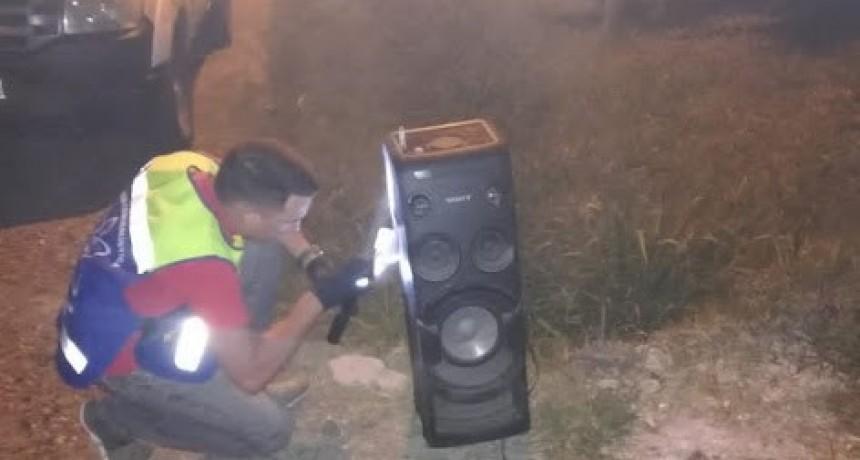 Secuestran equipo musical que fuera robado