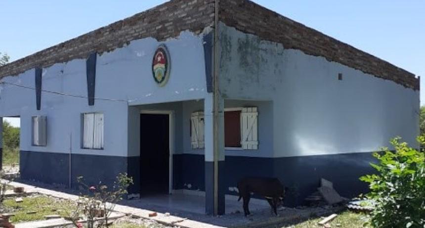 Nuevas refacciones sin precedentes del edificio del Destacamento de la Calandria