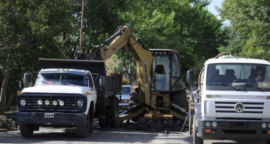 Avanzan los trabajos de mantenimiento en la Ciudad