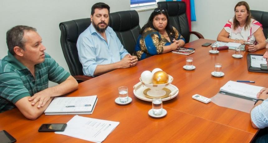 Analizan obras viales ejecutadas y proyectos para el departamento Federal