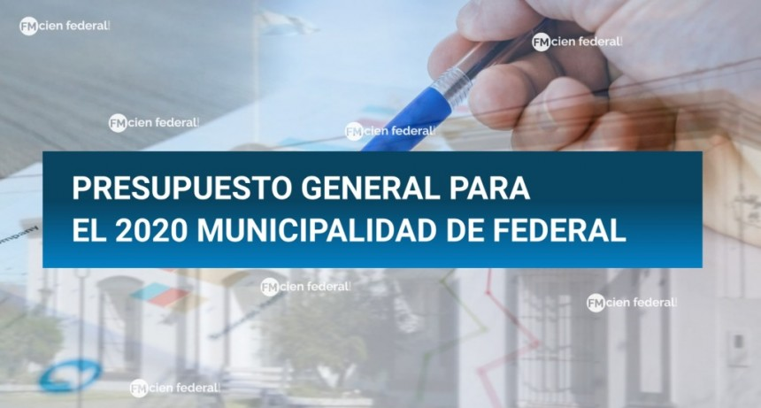 Ingresó el Proyecto del Presupuesto Municipal para el año 2020