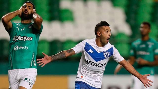 Antes de jugar con Patronato, Vélez goleó en Colombia y avanzó en la Sudamericana