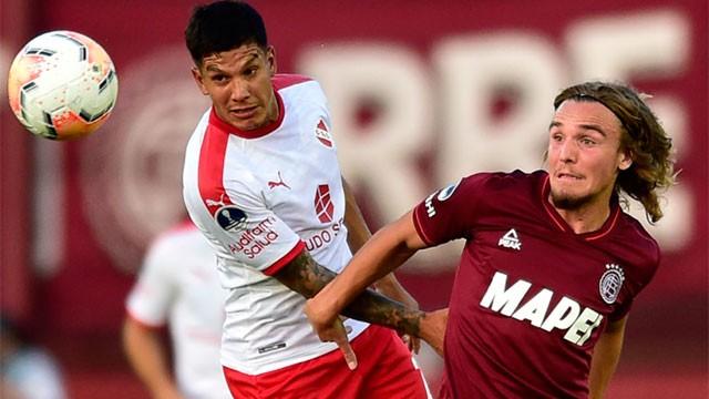 Sudamericana: Independiente y Lanús empataron en el primer partido de la serie de cuartos