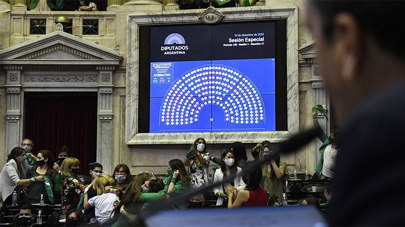 Diputados dio media sanción al proyecto de Interrupción Voluntaria del Embarazo
