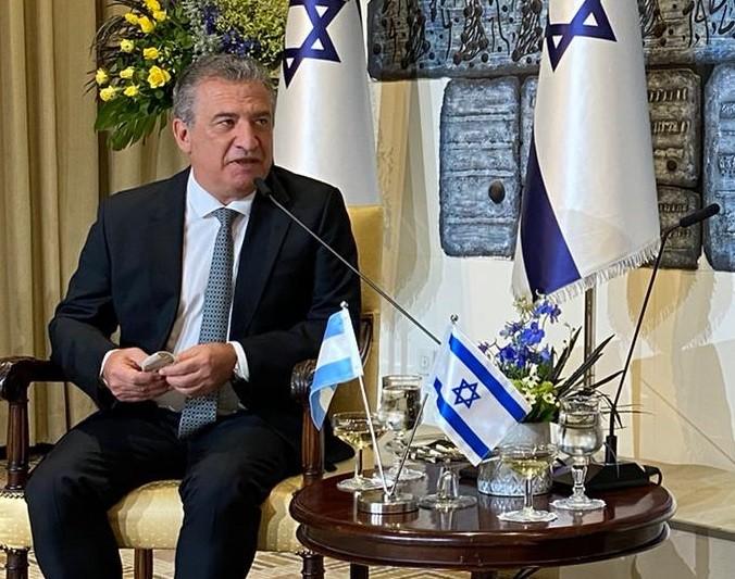 """Balance del embajador Urribarri: """"Duplicamos las exportaciones de carne y avanzamos en el intercambio en ciencia y tecnología"""""""