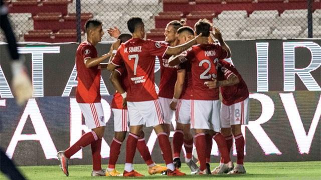 Copa Libertadores: River goleó 6-2 a Nacional y jugará las semifinales ante Palmeiras