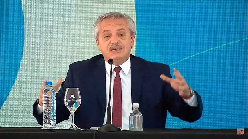 Fernández en Concordia: