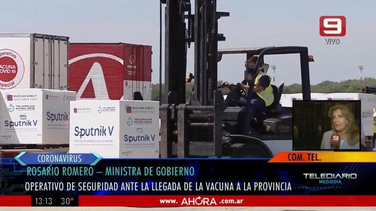 La Policía de Entre Ríos custodiará los lugares donde se apliquen las vacunas