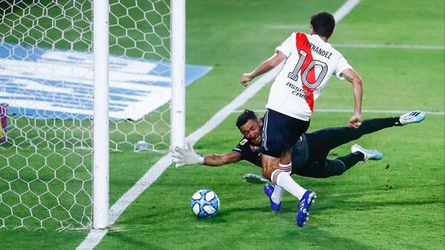 River le ganó a Arsenal, es líder y ya se enfoca en el Superclásico en la Bombonera
