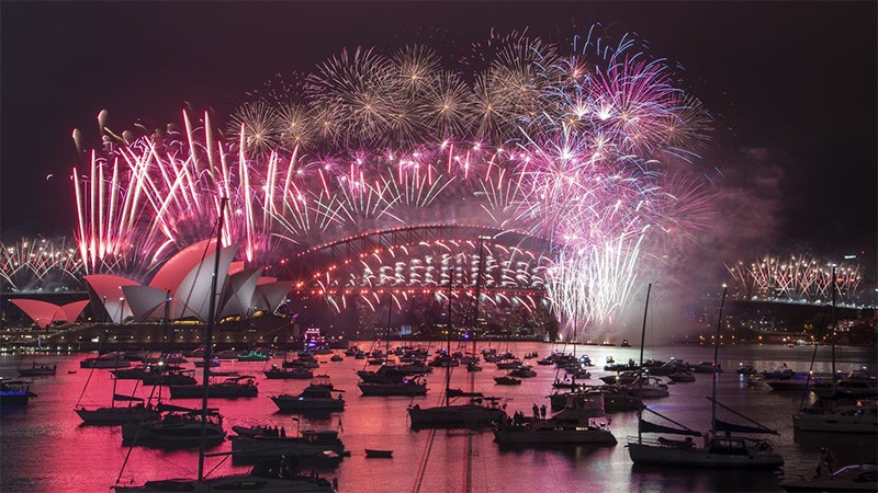 Bienvenido 2021: Así se celebra la llegada del año nuevo en el mundo
