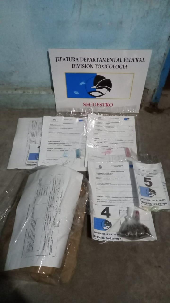 Hallazgo de sustancias sospechosas en el interior de unas tortas destinadas a un recluso en la Unidad Penal N 8